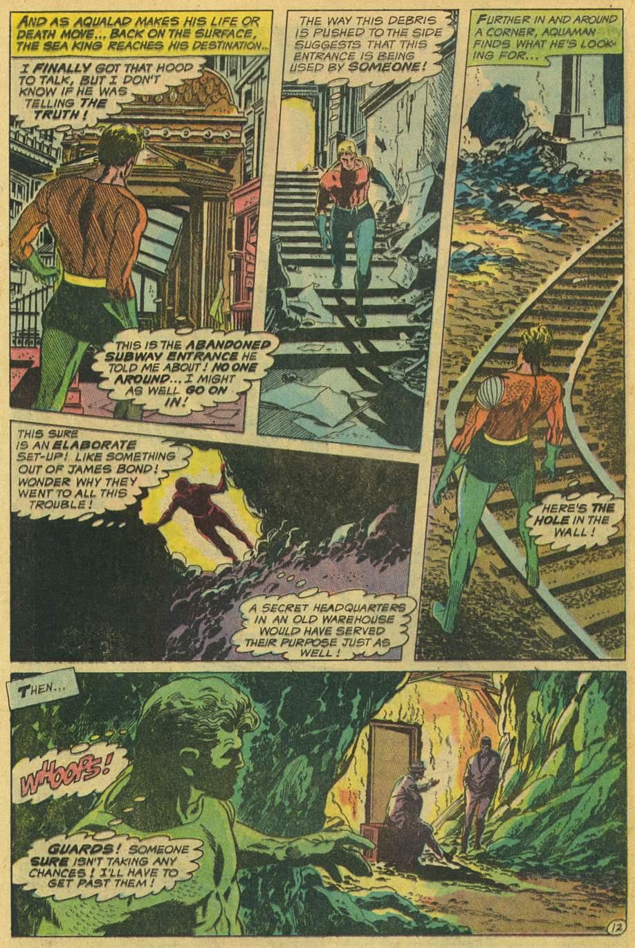 Aquaman (1962) Issue #45 #45 - English 16