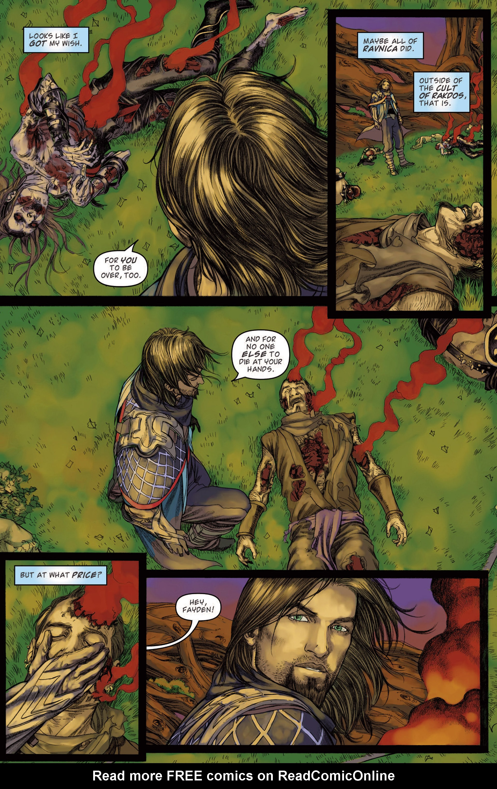 Read online Magic: The Gathering--Path of Vengeance comic -  Issue #4 - 20