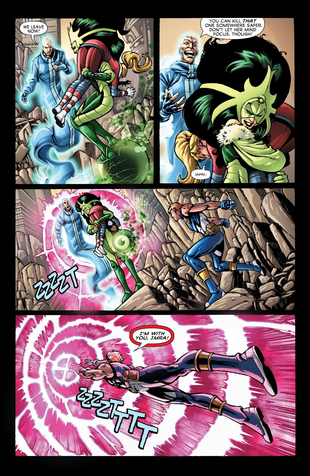 Legion of Super-Heroes (2011) Issue #22 #23 - English 8