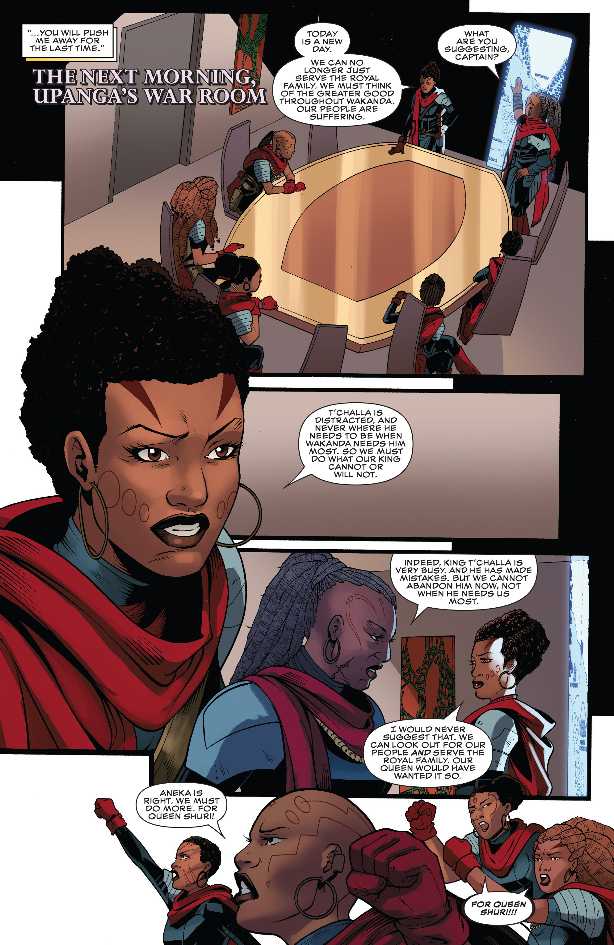 Read online Black Panther: World of Wakanda comic -  Issue #4 - 13
