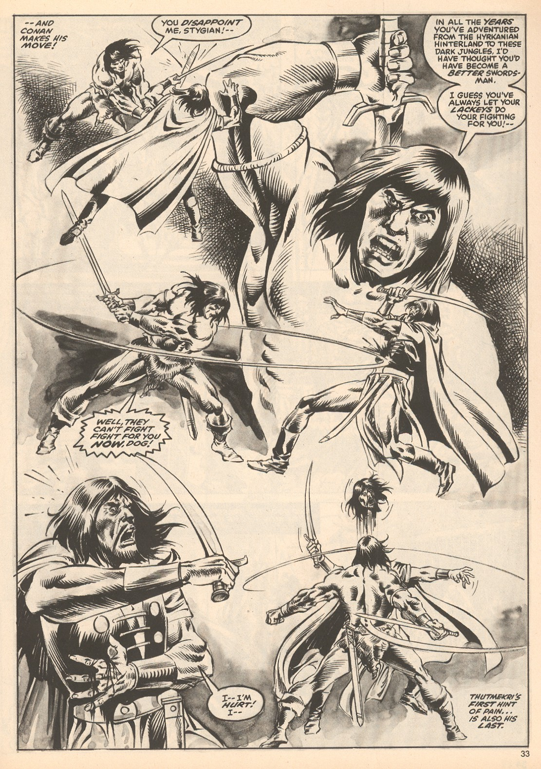 The Savage Sword Of Conan Issue #60 #61 - English 33