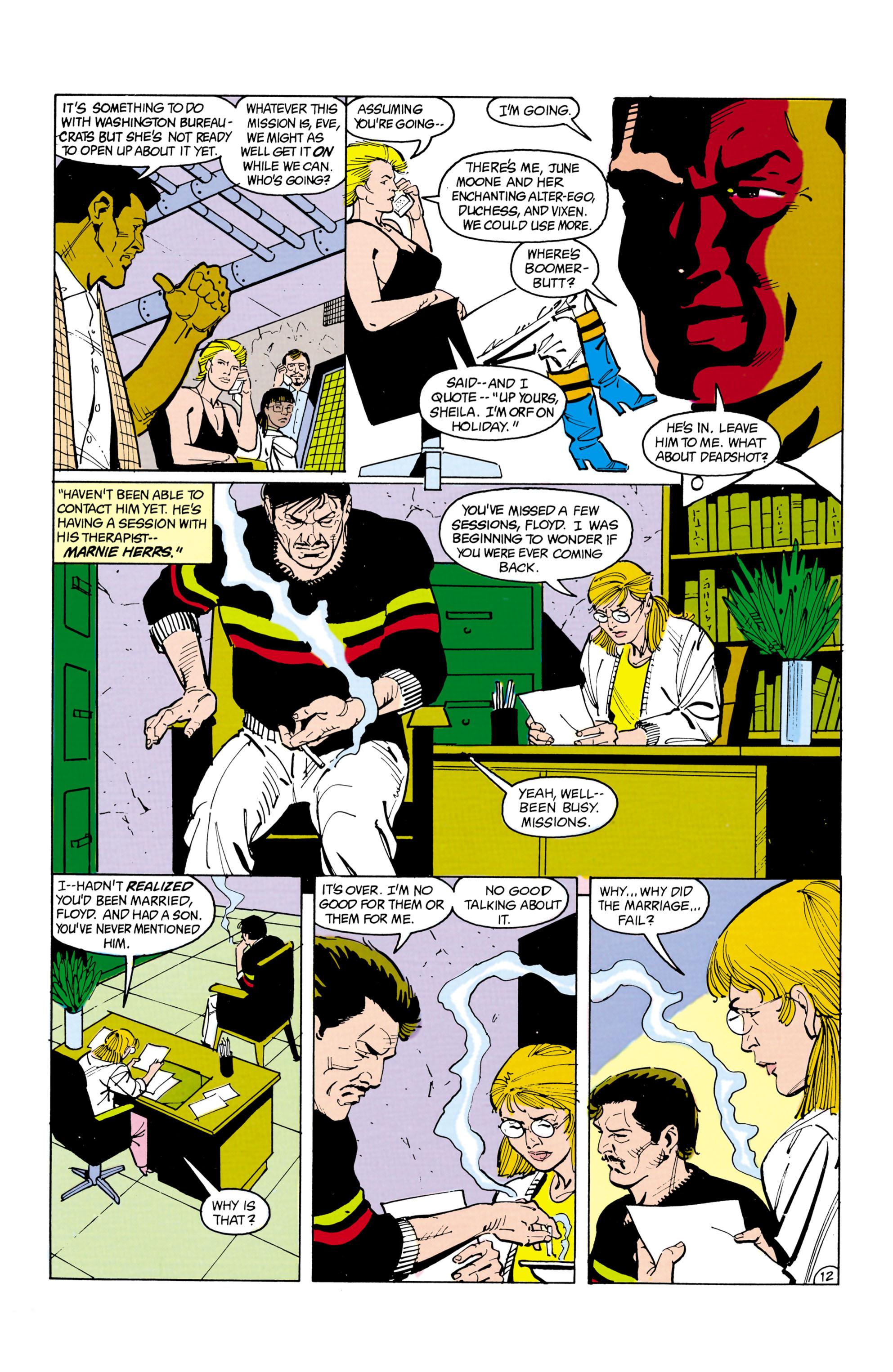 Suicide Squad (1987) 14 Page 12