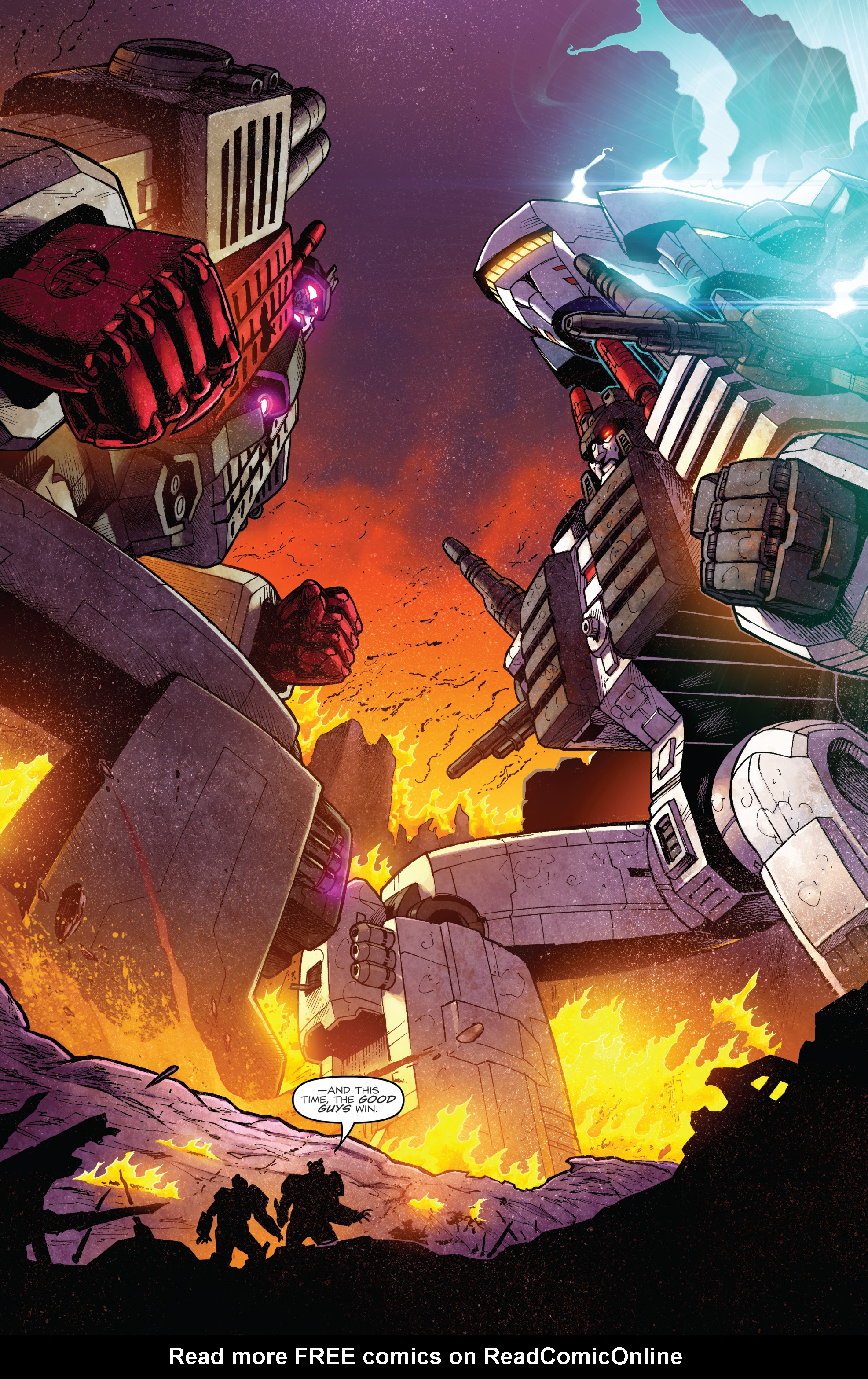 Read online The Transformers: Dark Cybertron Finale comic -  Issue # Full - 51