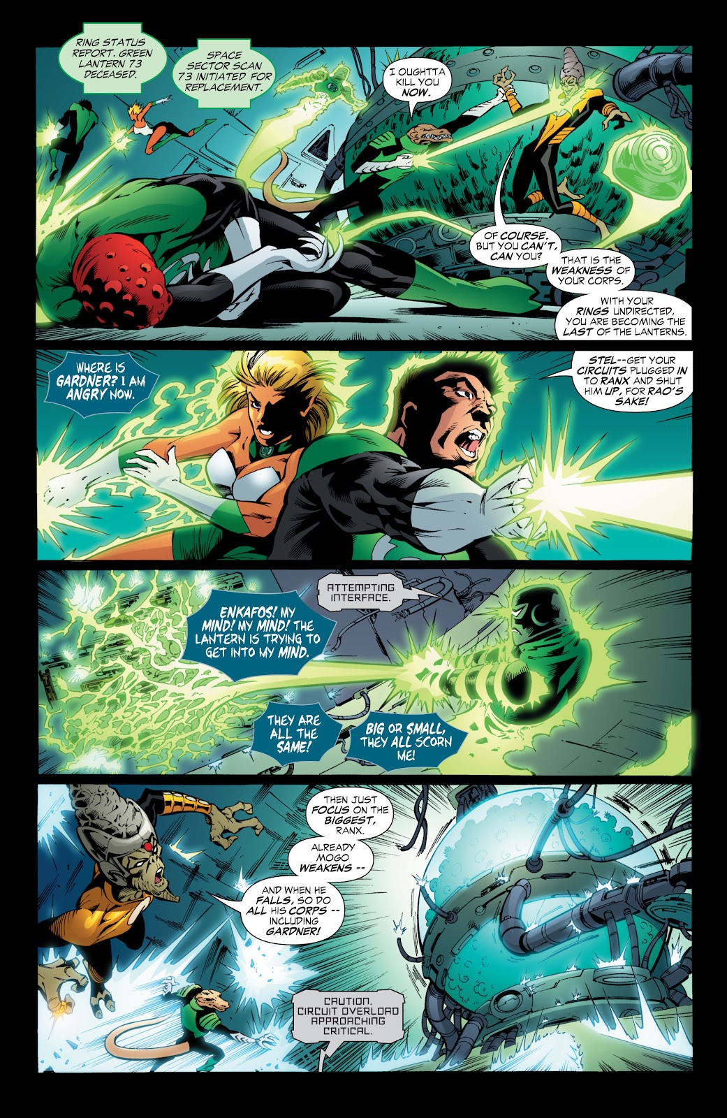 Green Lantern: The Sinestro Corps War Full #1 - English 170