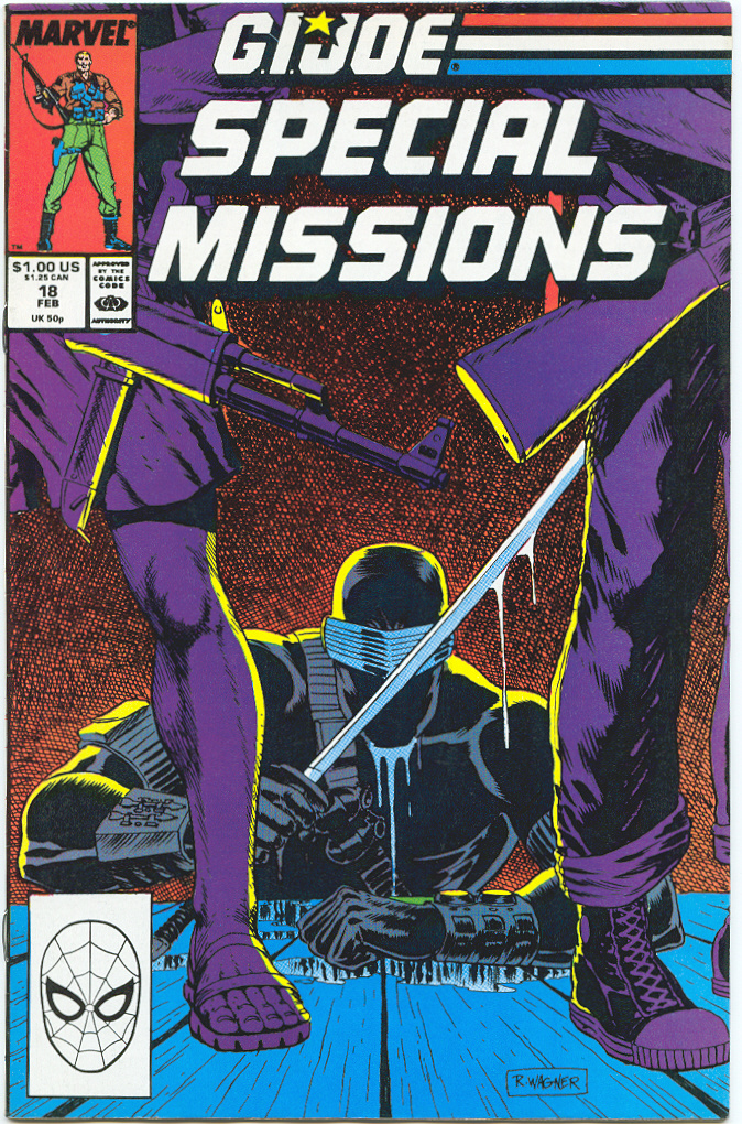 G.I. Joe Special Missions 18 Page 1