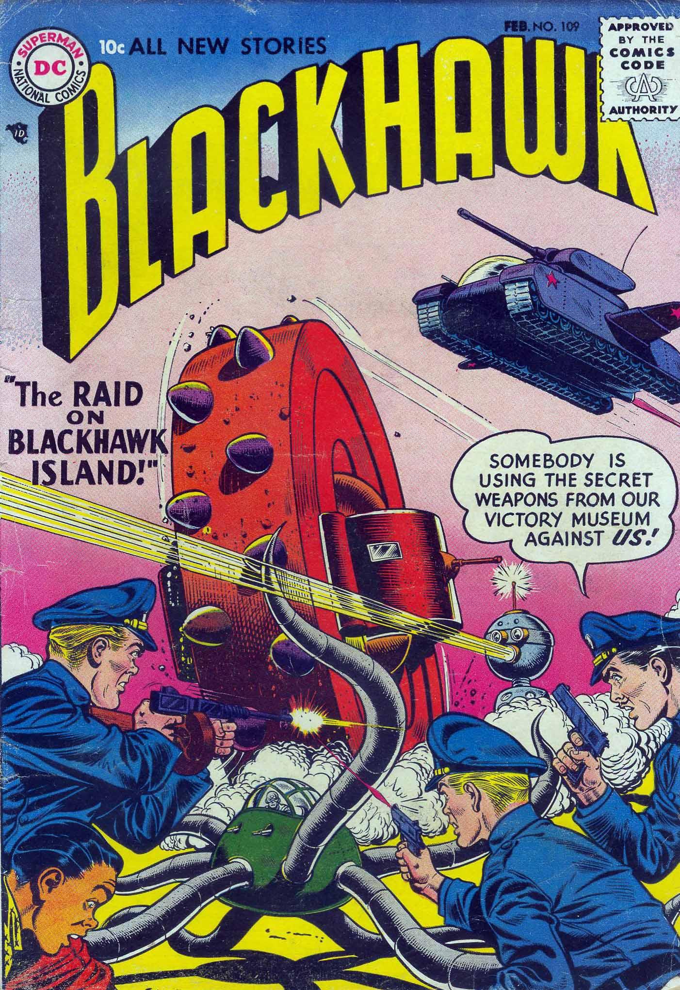 Blackhawk (1957) 109 Page 1