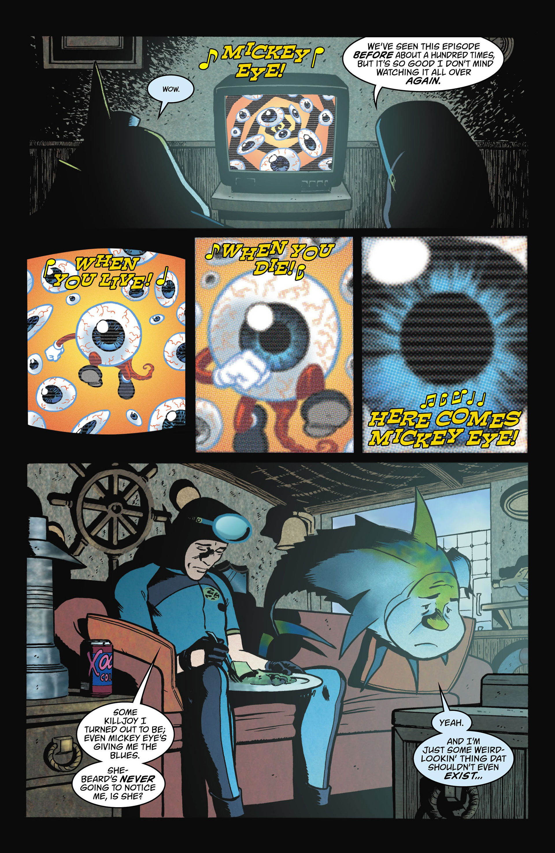 Read online Seaguy comic -  Issue #1 - 12