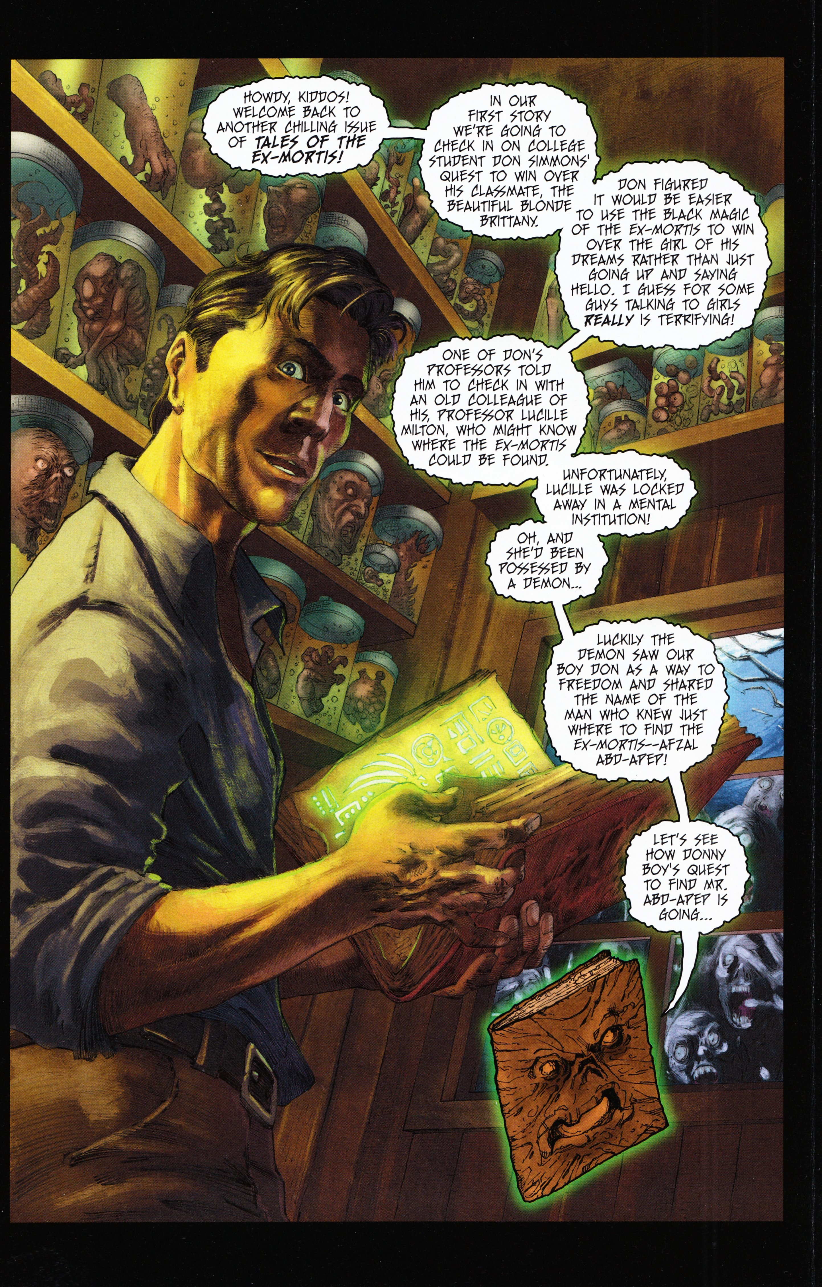 Read online Evil Dead 2: Tales of the Ex-Mortis comic -  Issue #2 - 3