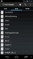 Font Installer Pro Aplikasi Pengganti Font Android