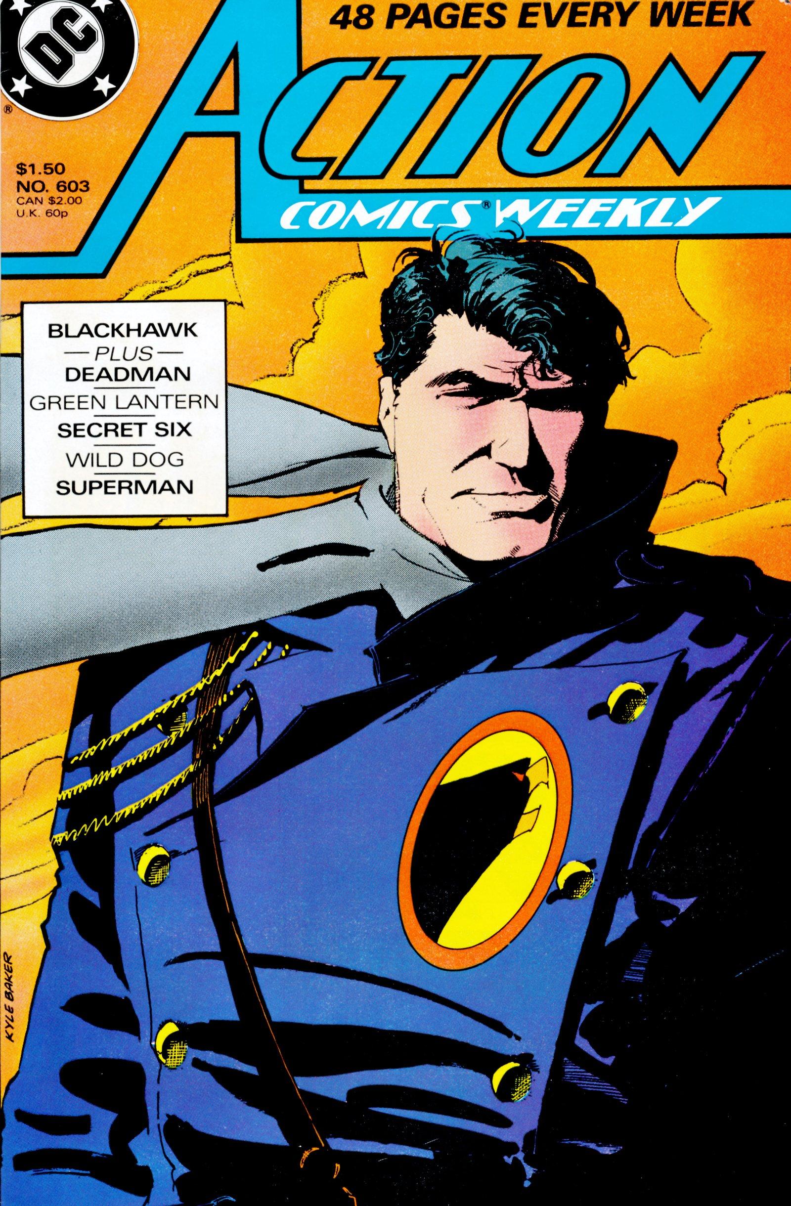 Action Comics (1938) 603 Page 1