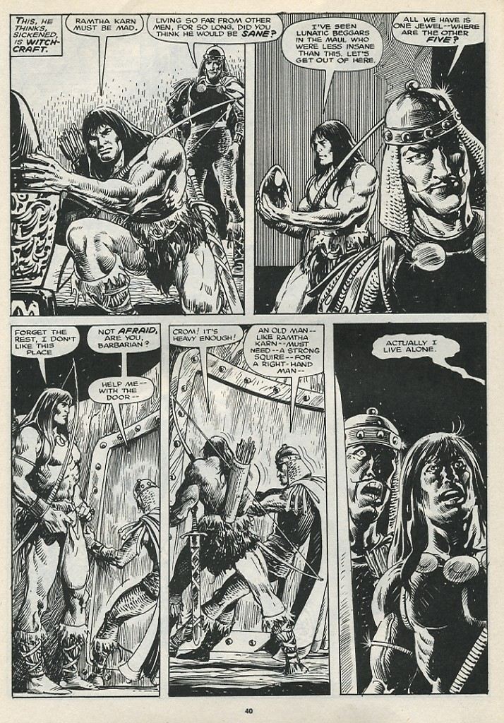 The Savage Sword Of Conan Issue #174 #175 - English 42