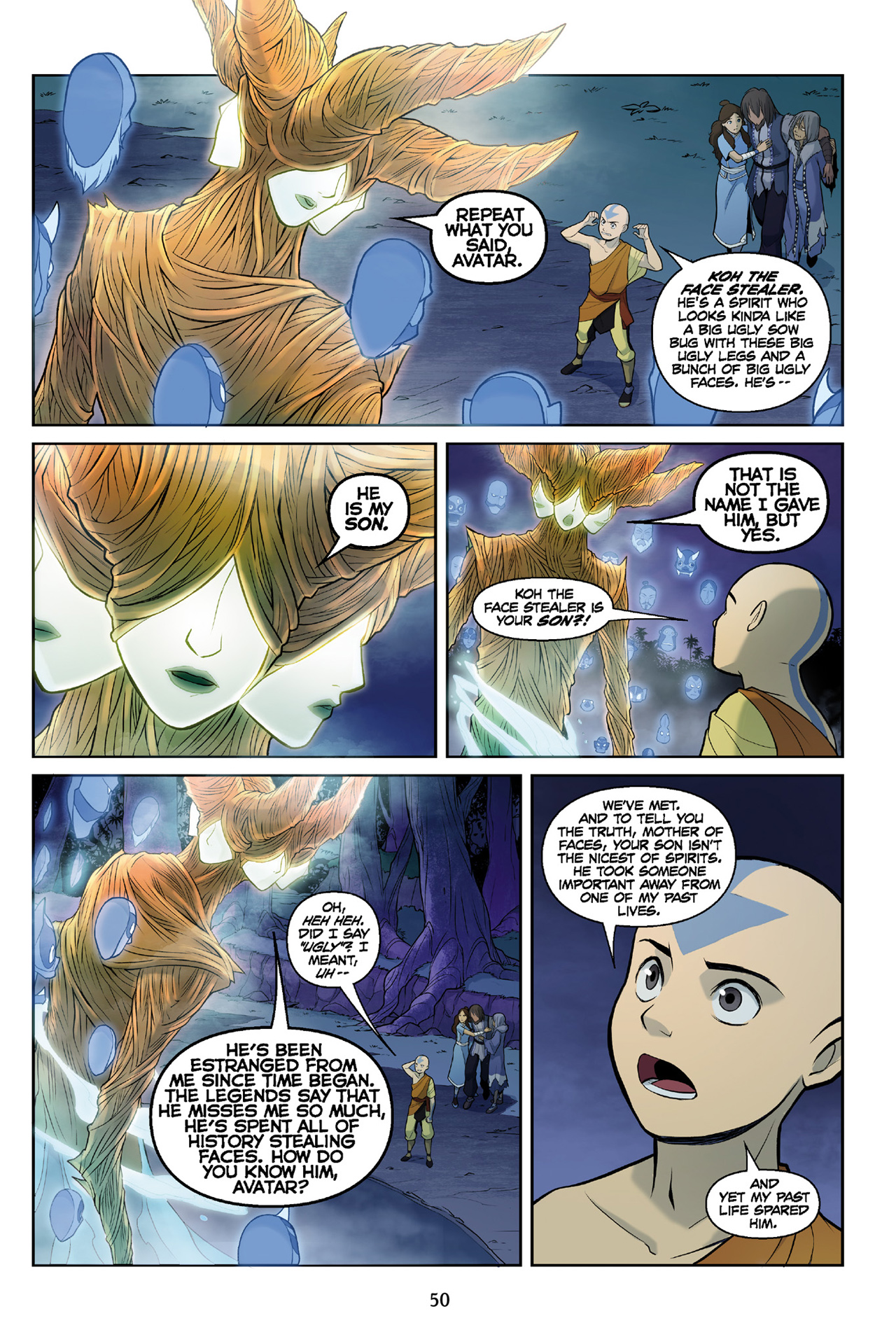 Read online Nickelodeon Avatar: The Last Airbender - The Search comic -  Issue # Part 3 - 51
