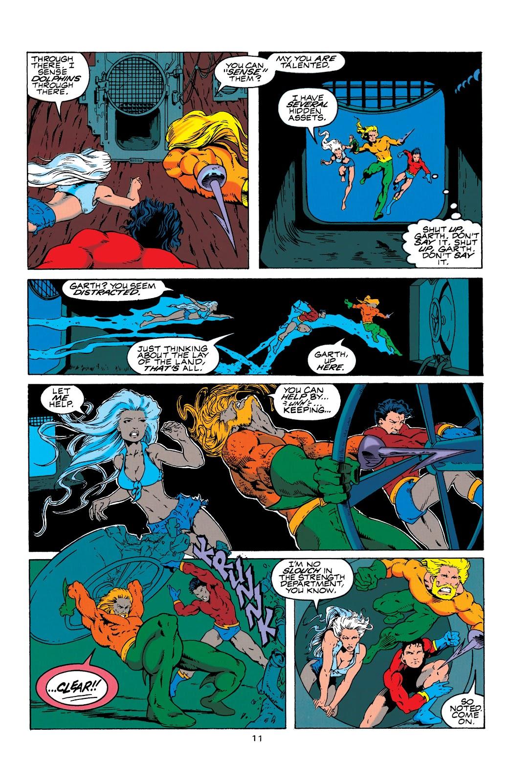 Aquaman (1994) Issue #4 #10 - English 12