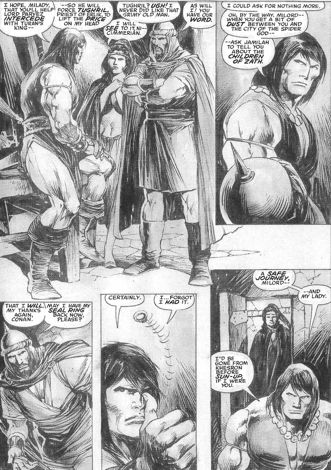 The Savage Sword Of Conan Issue #209 #210 - English 44