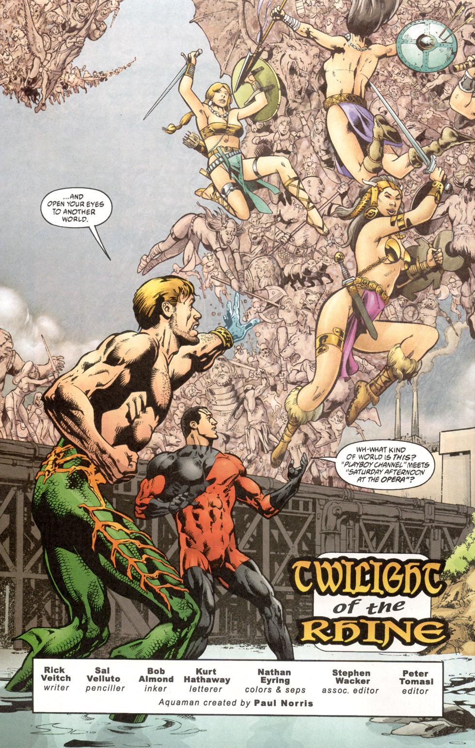Aquaman (2003) Issue #7 #7 - English 3