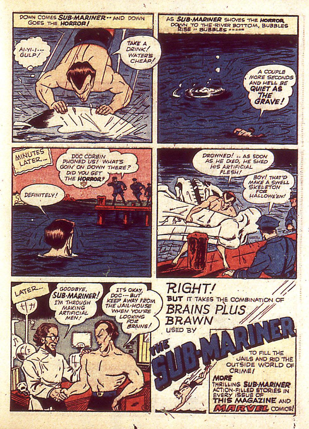 Sub-Mariner Comics Issue #4 #4 - English 42