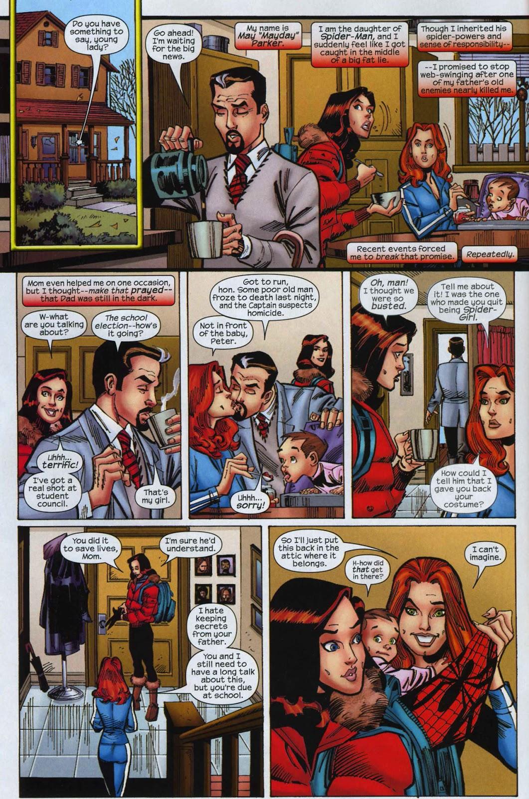 Amazing Spider-Girl Issue #3 #4 - English 5