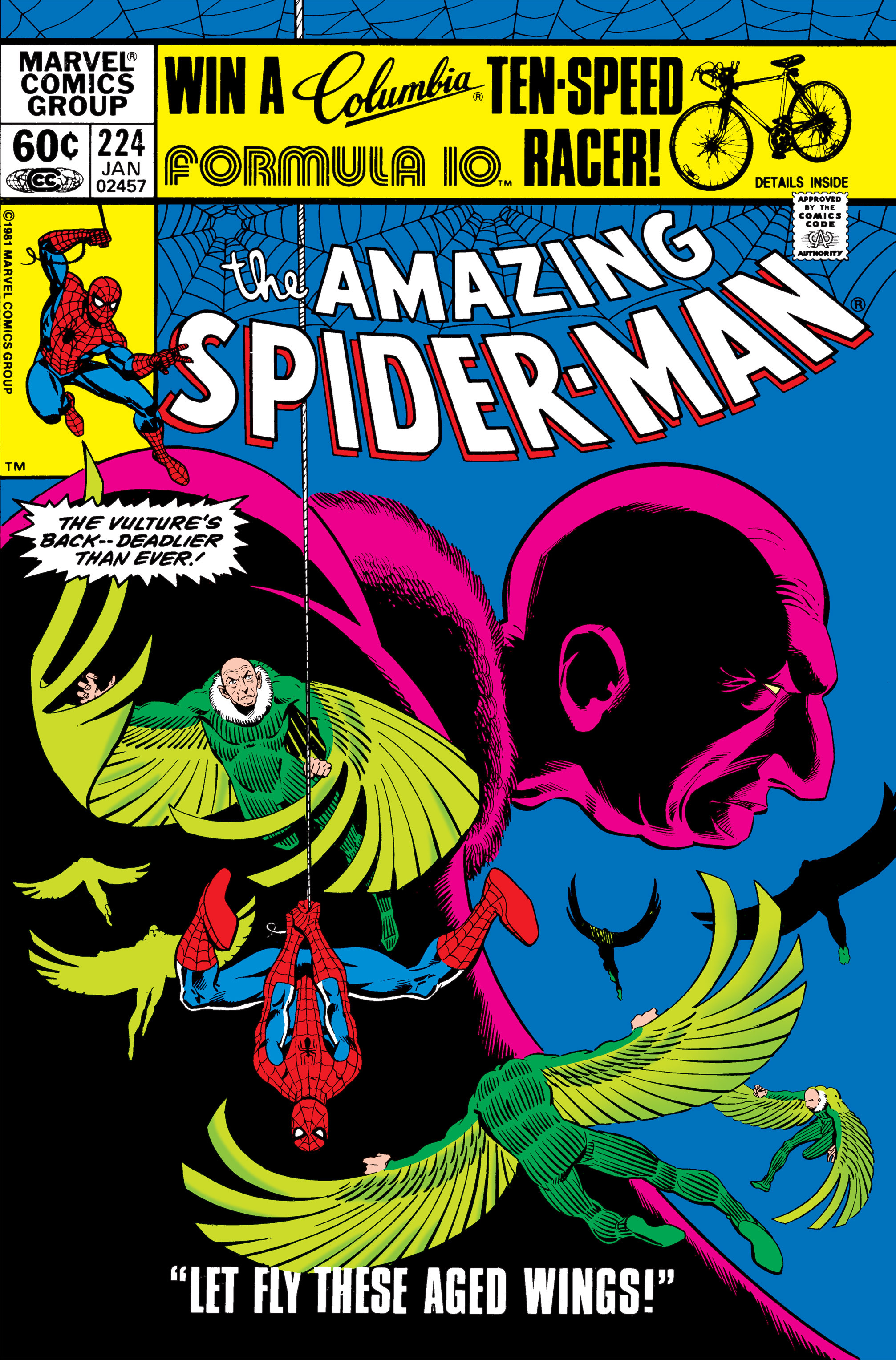 The Amazing Spider-Man (1963) 224 Page 1