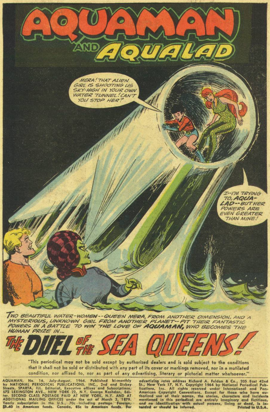Aquaman (1962) Issue #16 #16 - English 3