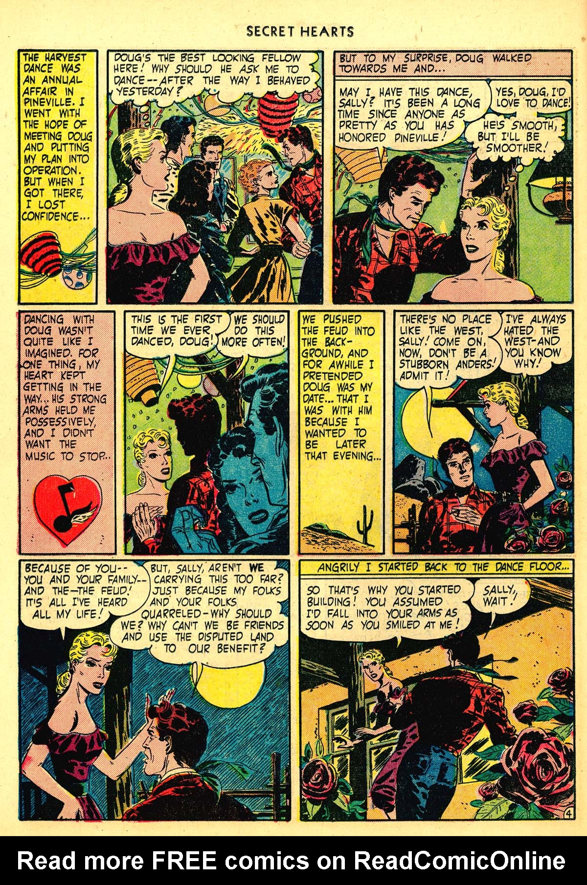 Read online Secret Hearts comic -  Issue #6 - 24