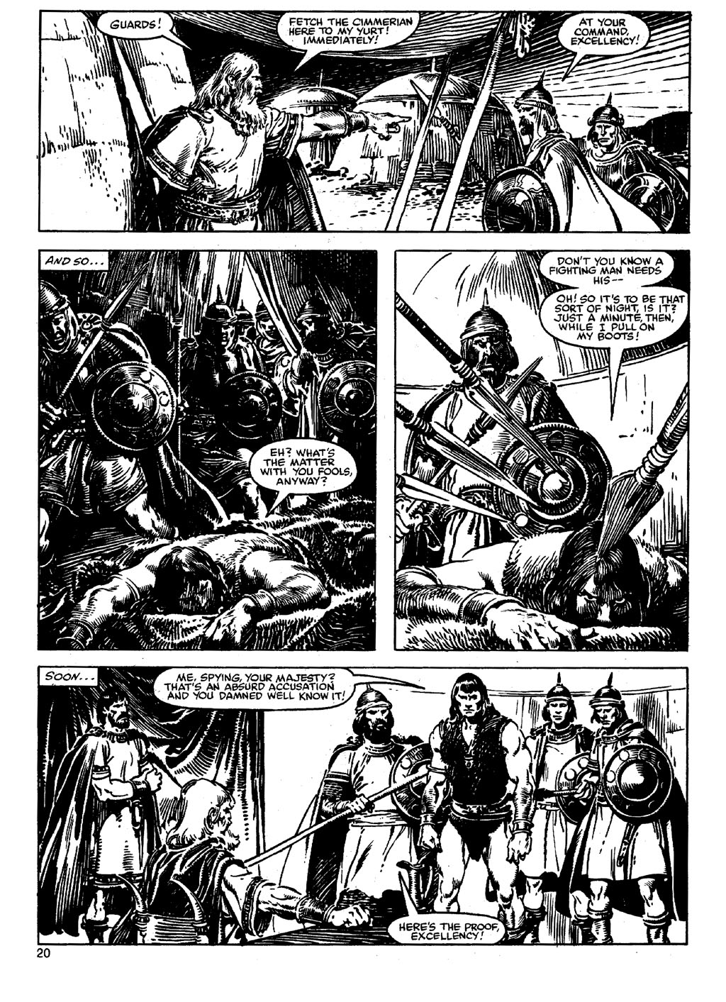 The Savage Sword Of Conan Issue #90 #91 - English 19