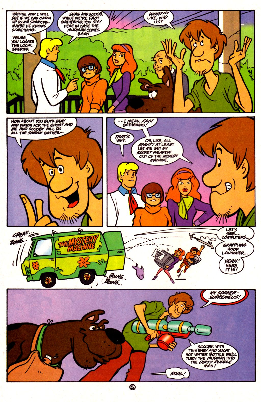 Read online Scooby-Doo (1997) comic -  Issue #21 - 6