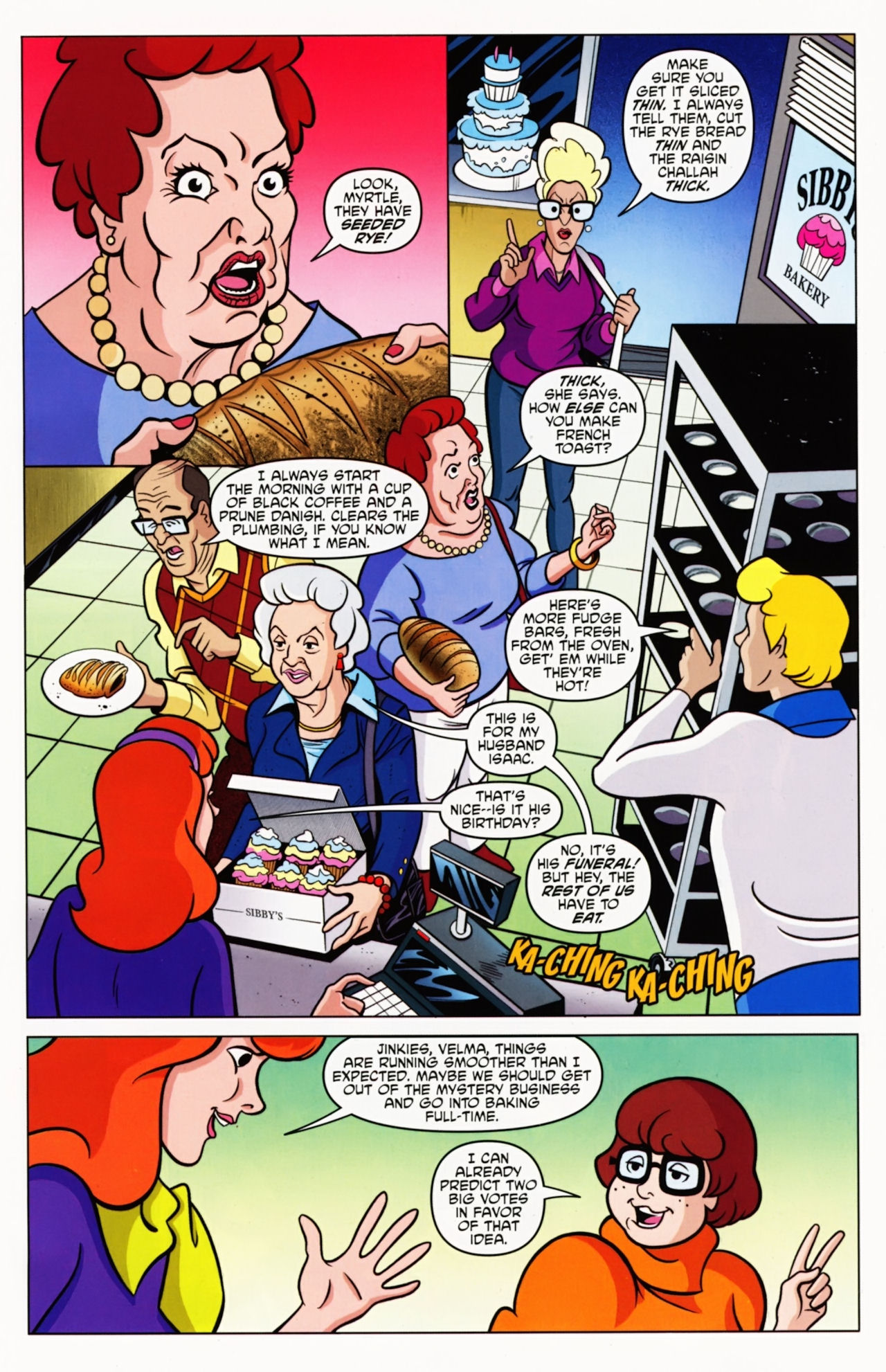 Read online Scooby-Doo: Where Are You? comic -  Issue #8 - 5
