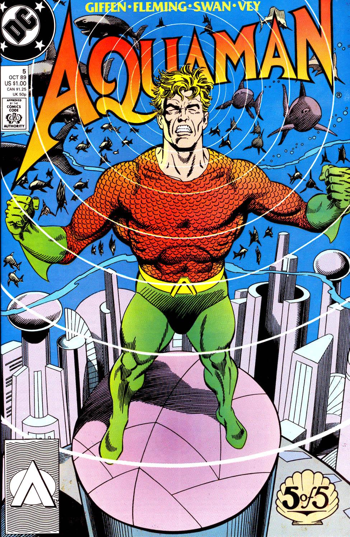 Aquaman (1989) Issue #5 #5 - English 1