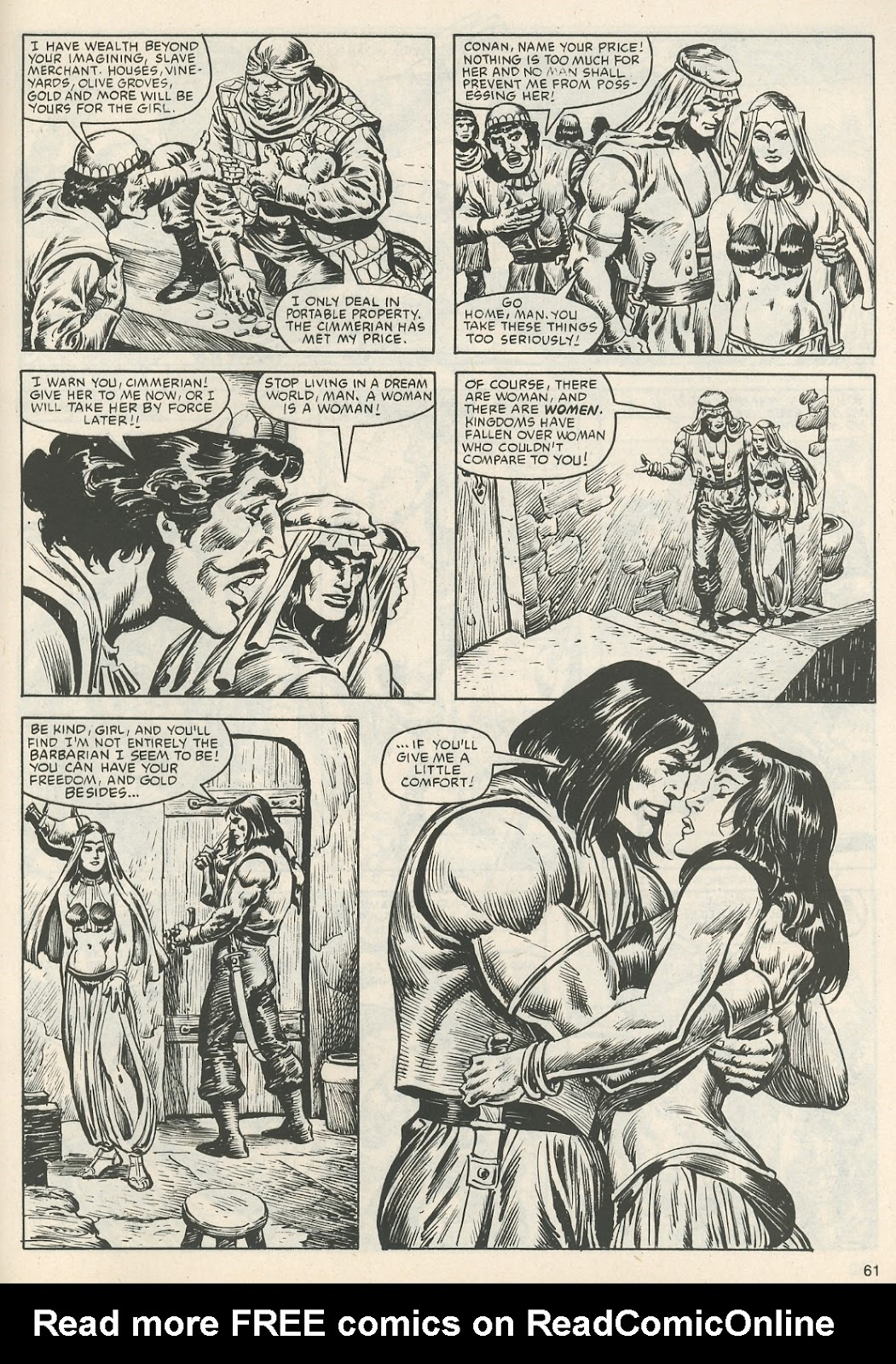The Savage Sword Of Conan Issue #111 #112 - English 64
