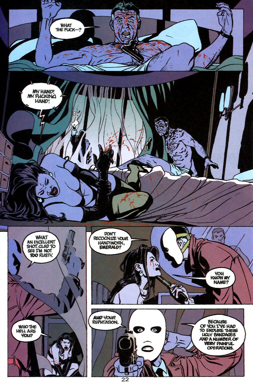 Human Target (1999) 1 Page 22