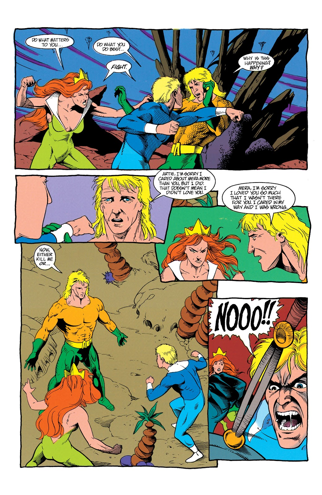 Aquaman (1991) Issue #7 #7 - English 20