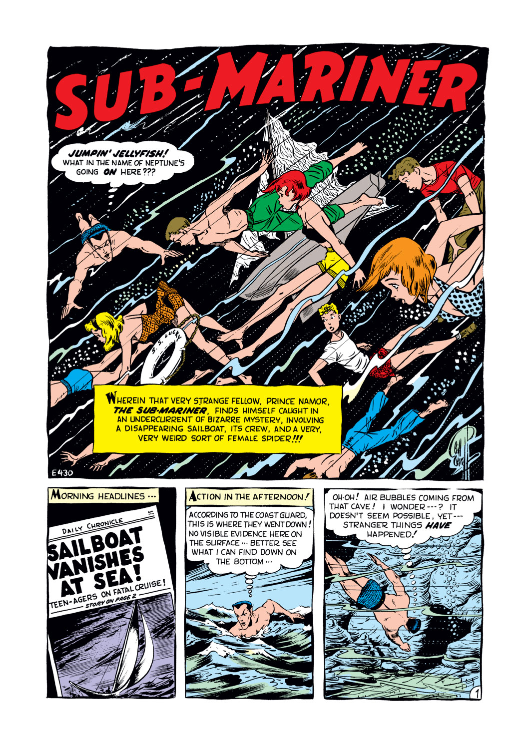 Sub-Mariner Comics #34 #34 - English 2