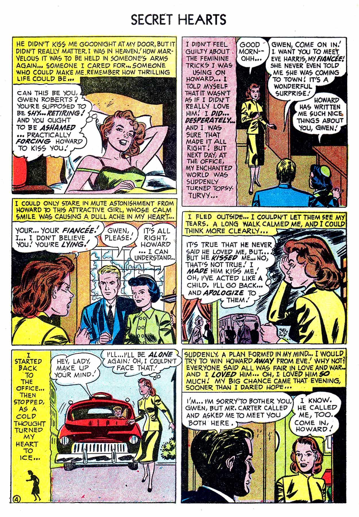 Read online Secret Hearts comic -  Issue #8 - 30