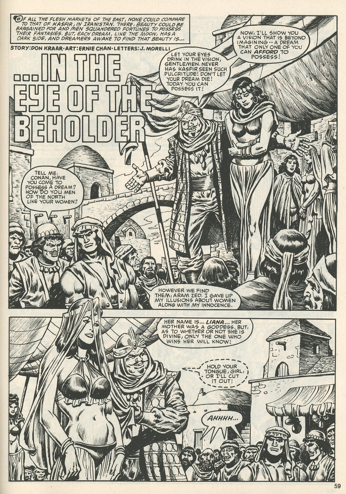 The Savage Sword Of Conan Issue #111 #112 - English 62