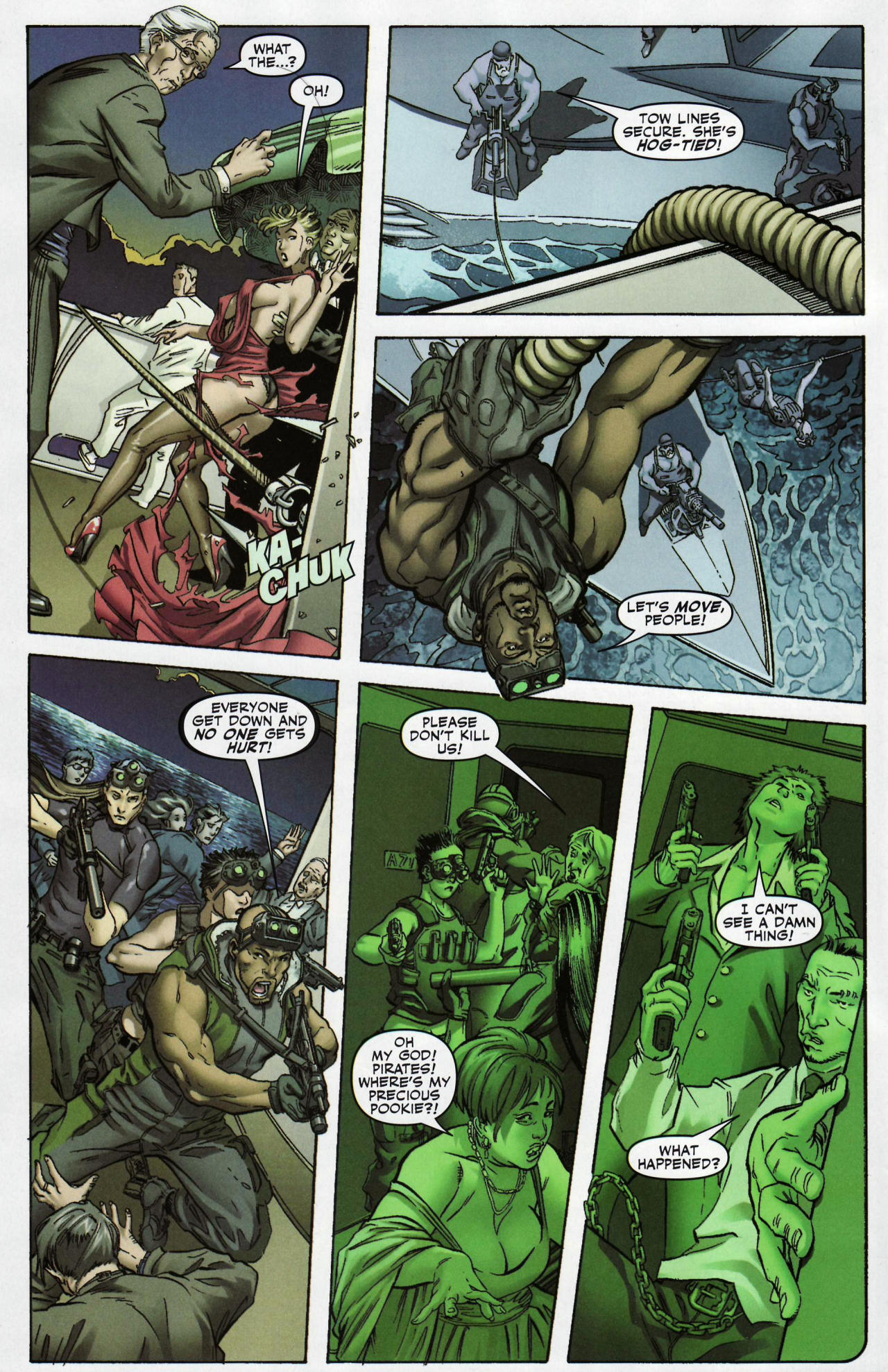 Read online Shanna the She-Devil: Survival of the Fittest comic -  Issue #1 - 3