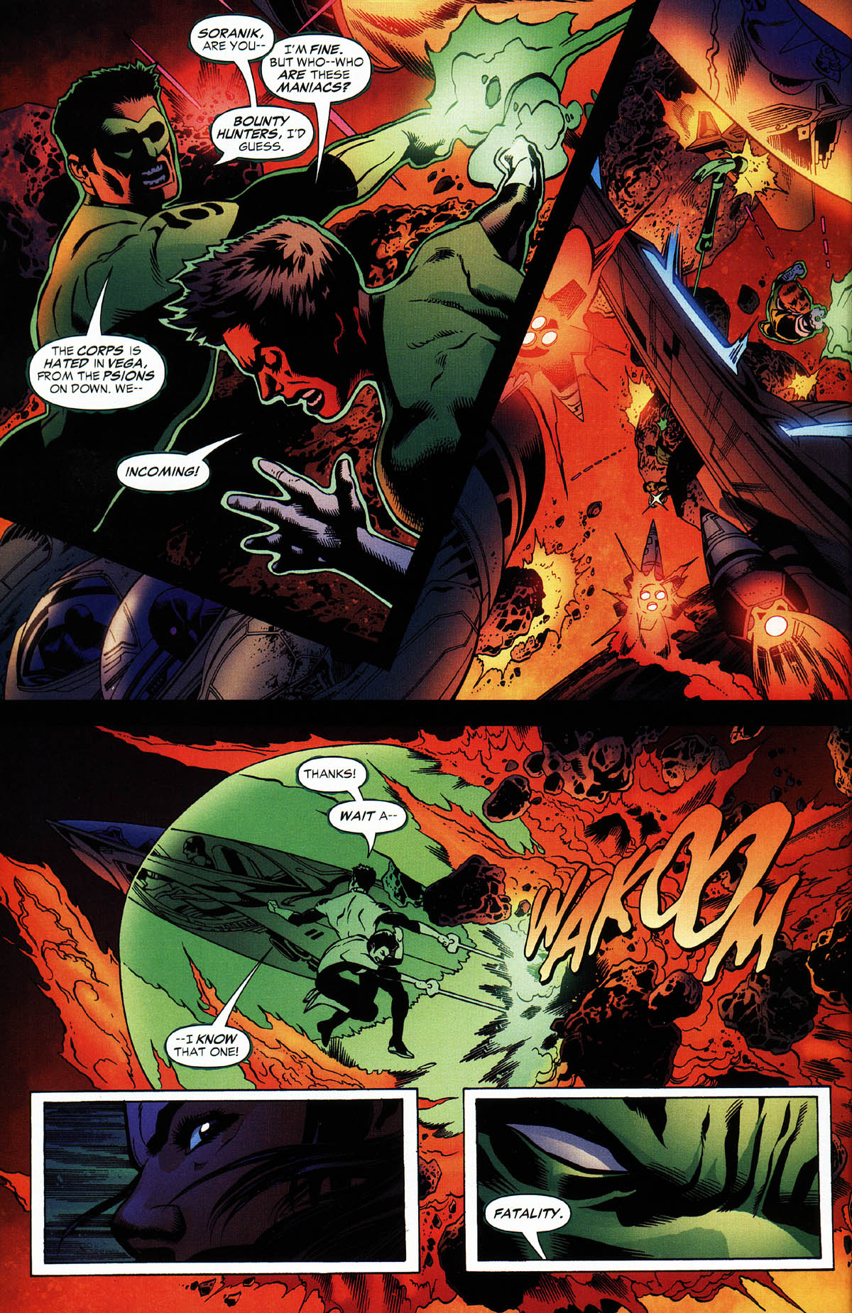 Read online Green Lantern Corps: Recharge comic -  Issue #3 - 19