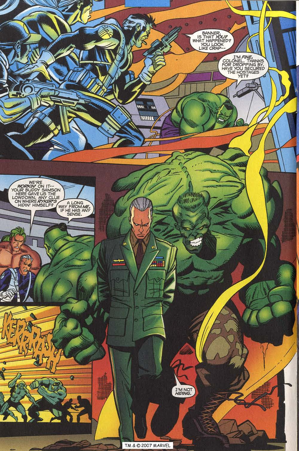 Read online The Incredible Hulk (2000) comic -  Issue #20 - 18
