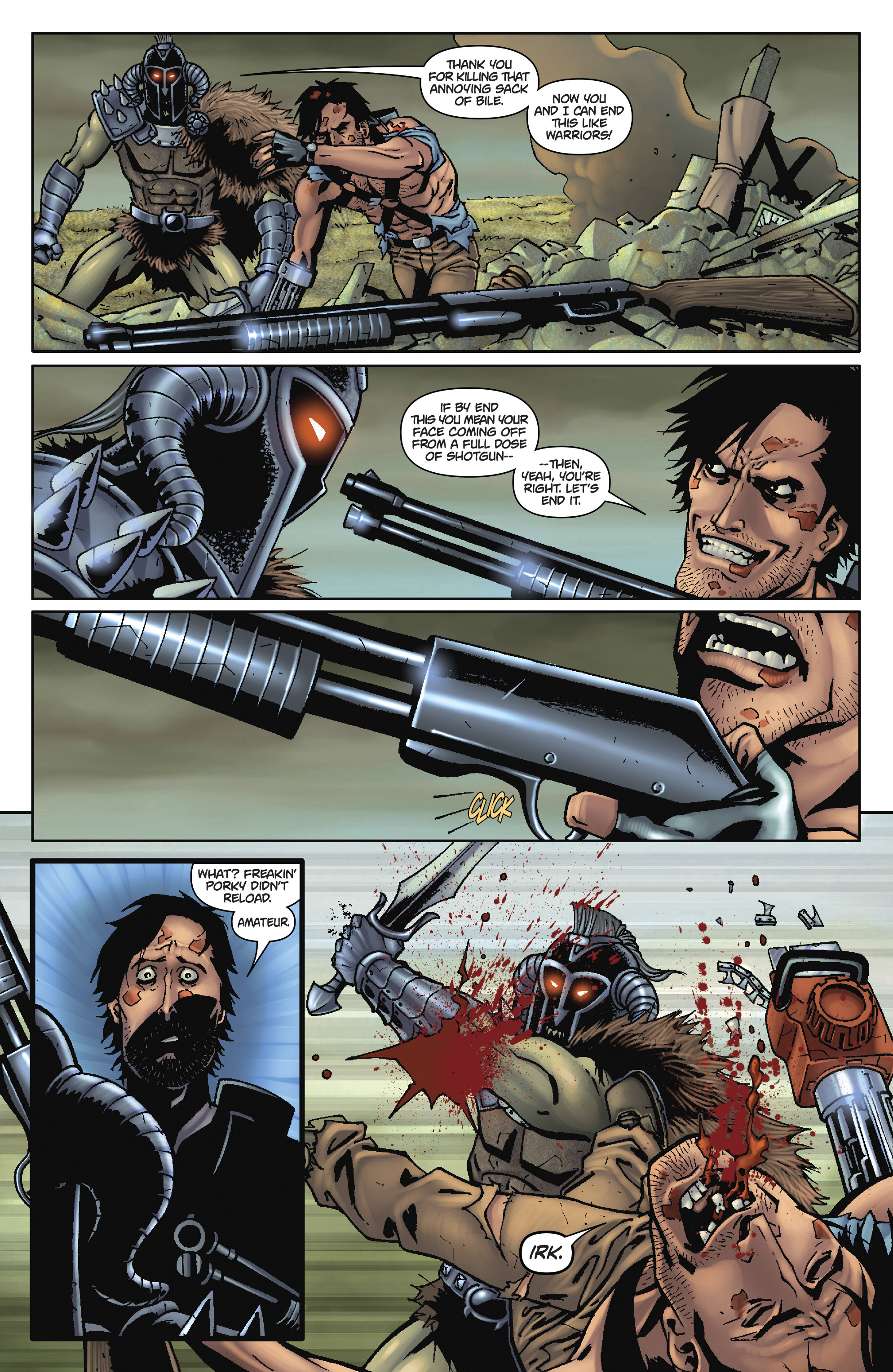 Army of Darkness: The Long Road Home TPB Page 96