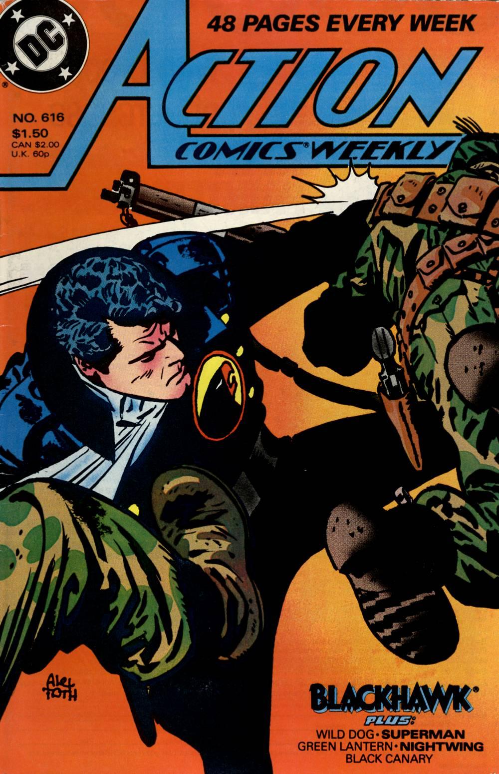Action Comics (1938) 616 Page 1