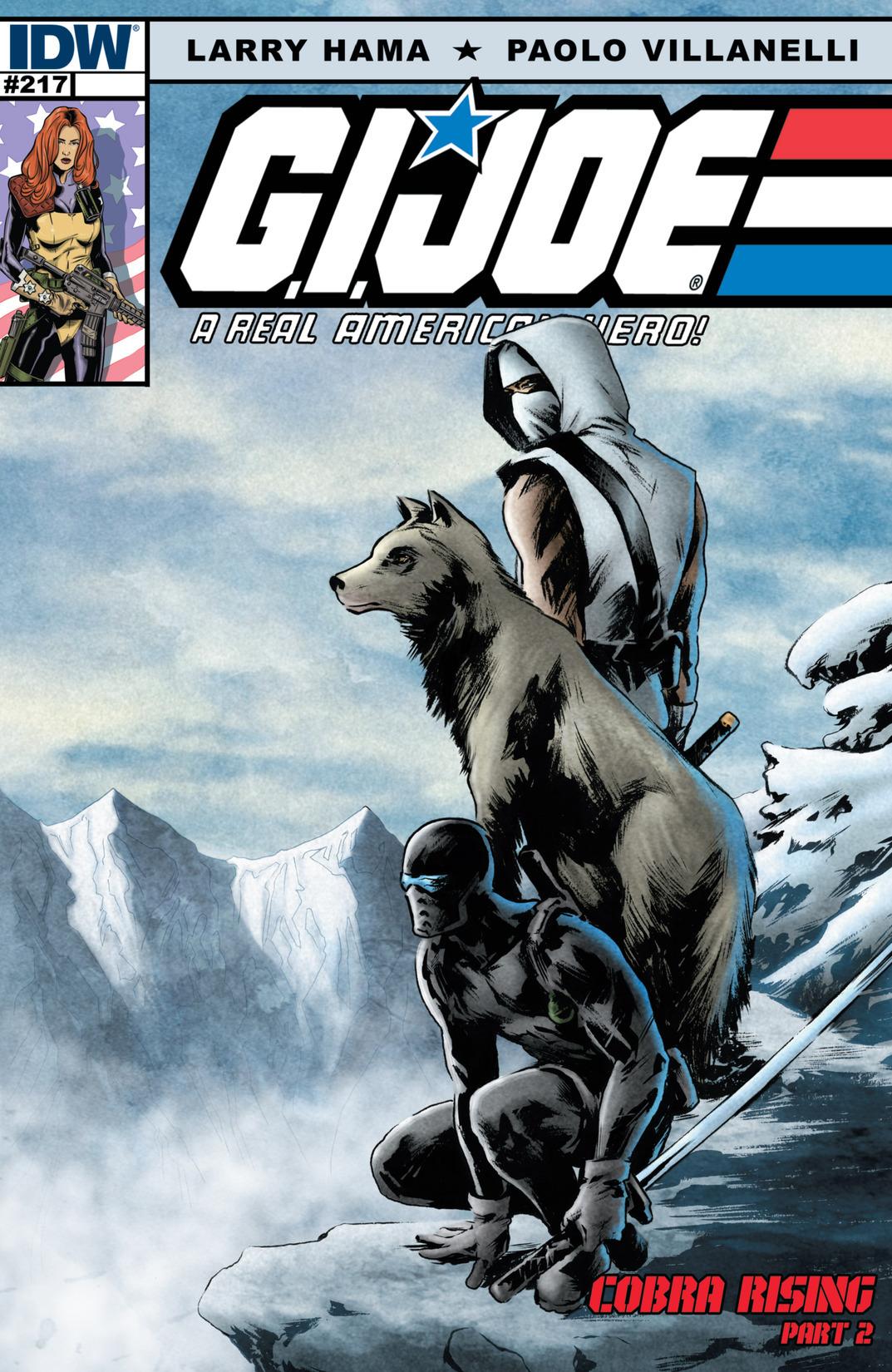 G.I. Joe: A Real American Hero 217 Page 1