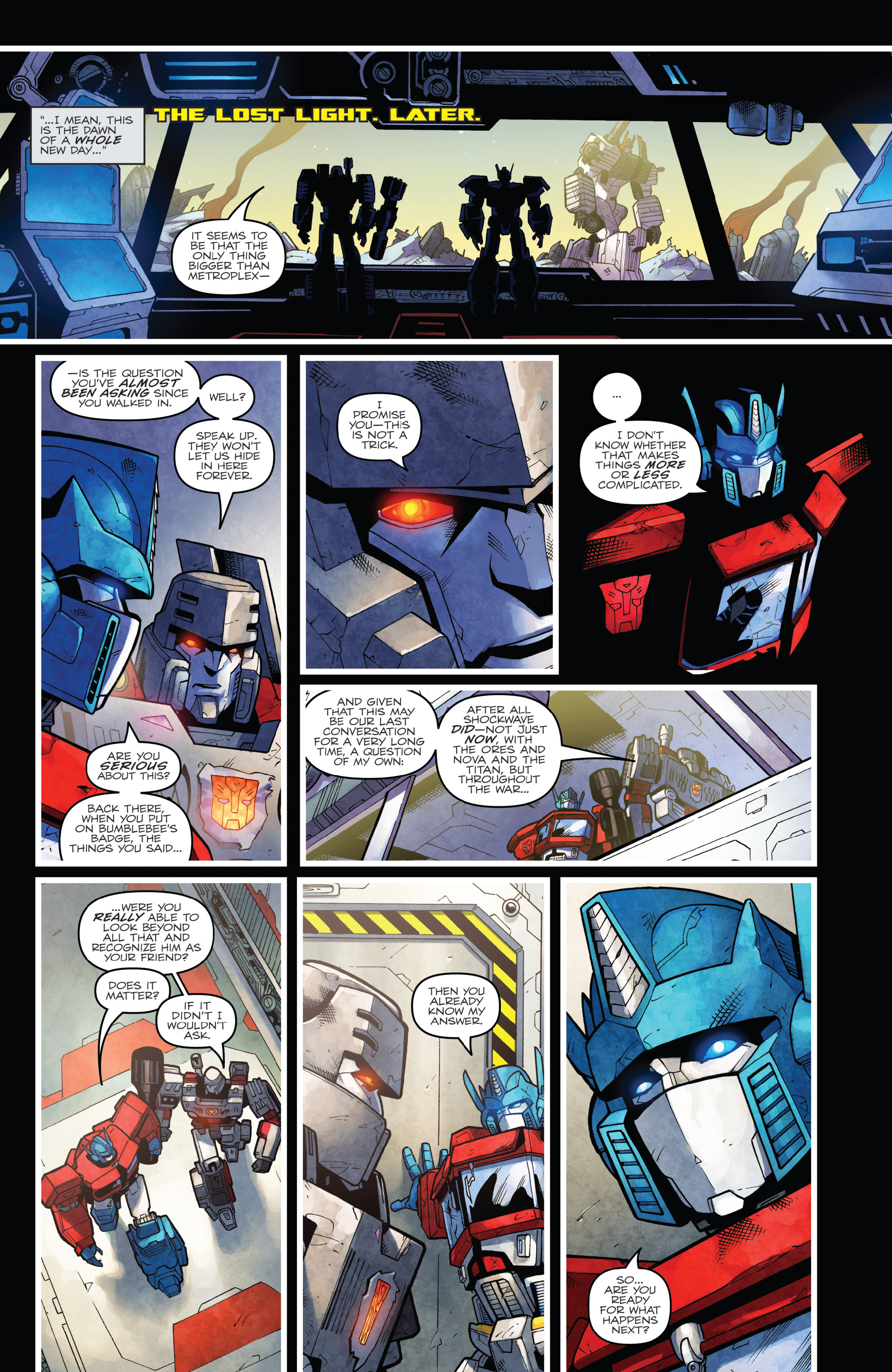 Read online The Transformers: Dark Cybertron Finale comic -  Issue # Full - 146