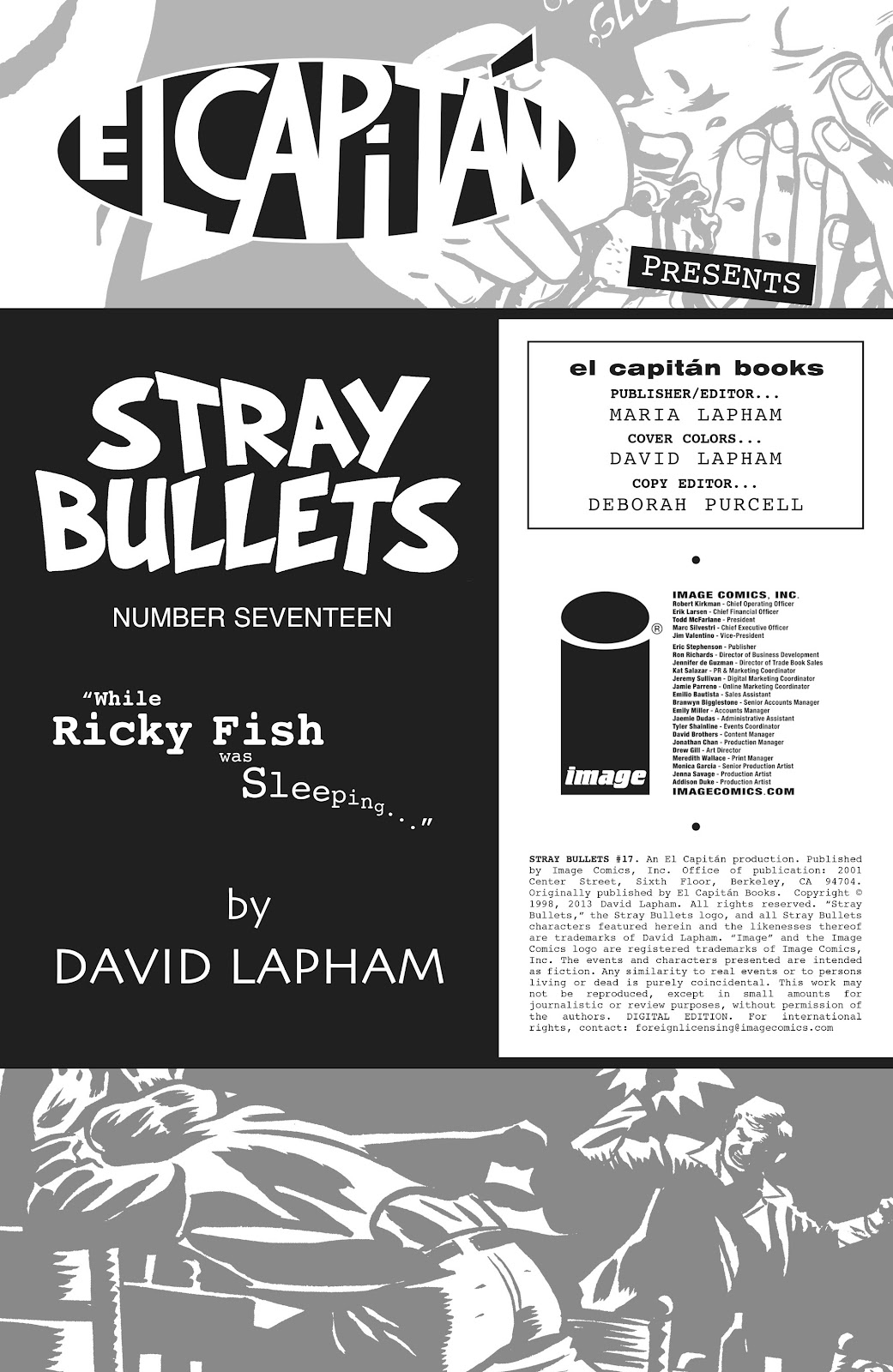 Stray Bullets Issue #17 #17 - English 2