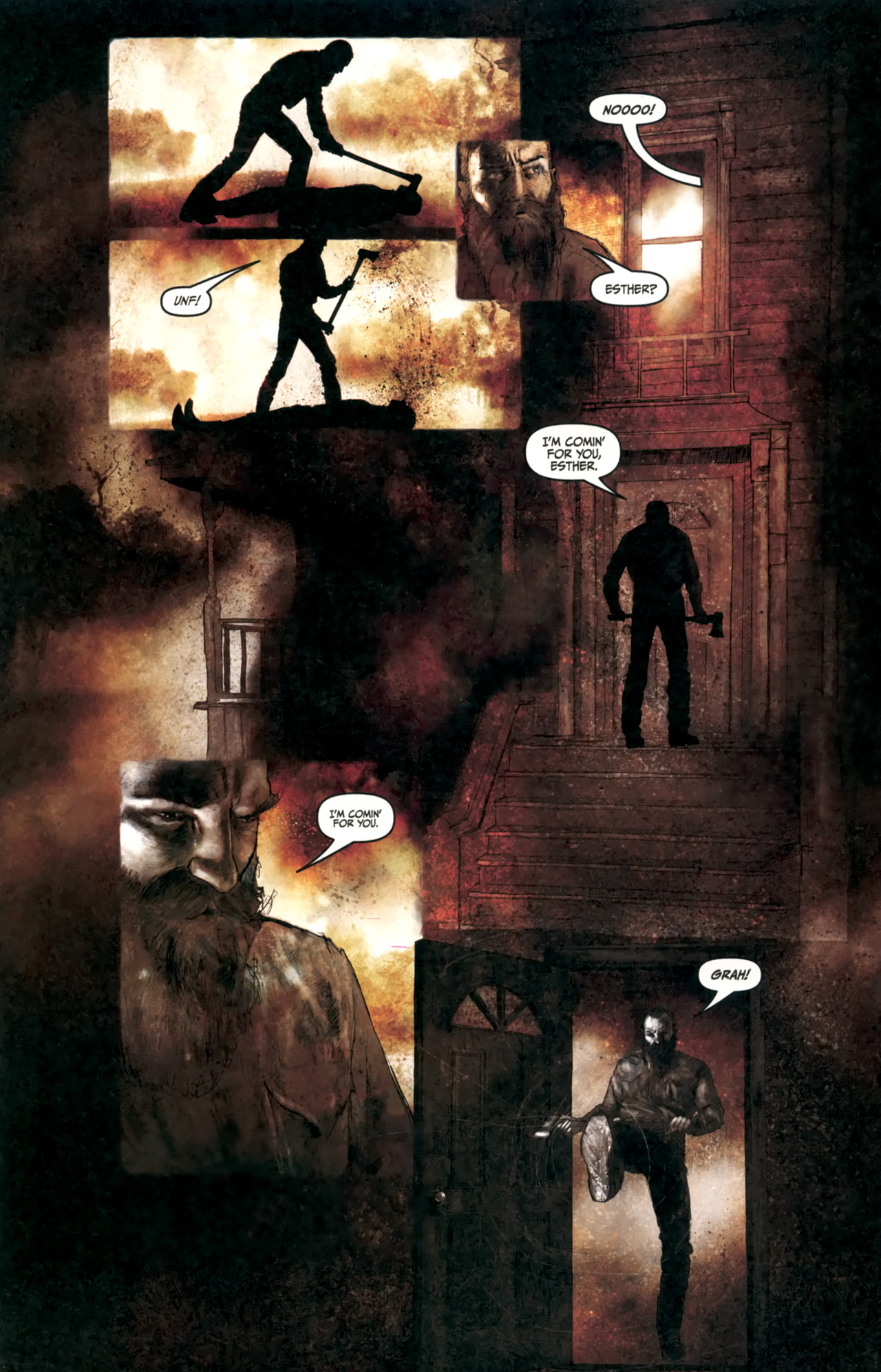 Read online Silent Hill: Past Life comic -  Issue #4 - 19