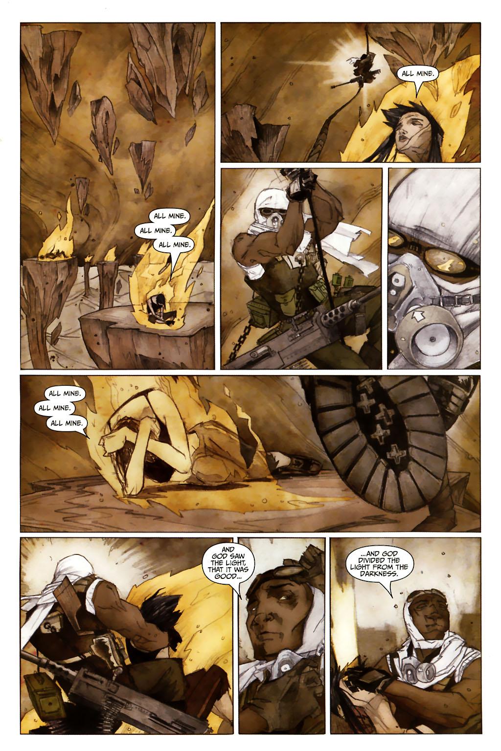 Girl 13 Page 6 #6 - English 23