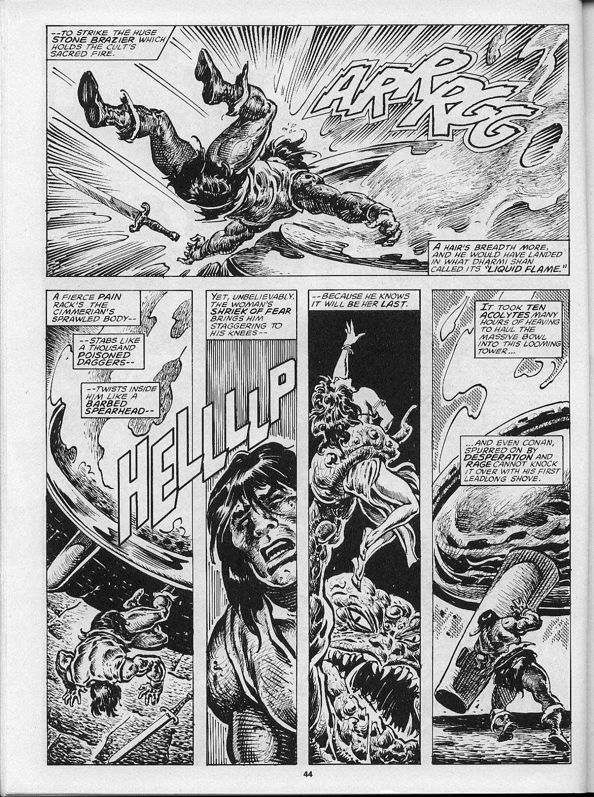 The Savage Sword Of Conan Issue #200 #201 - English 46
