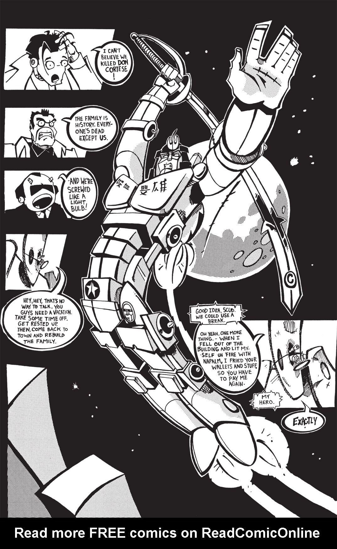 Read online Scud: The Disposable Assassin: The Whole Shebang comic -  Issue # TPB (Part 1) - 135