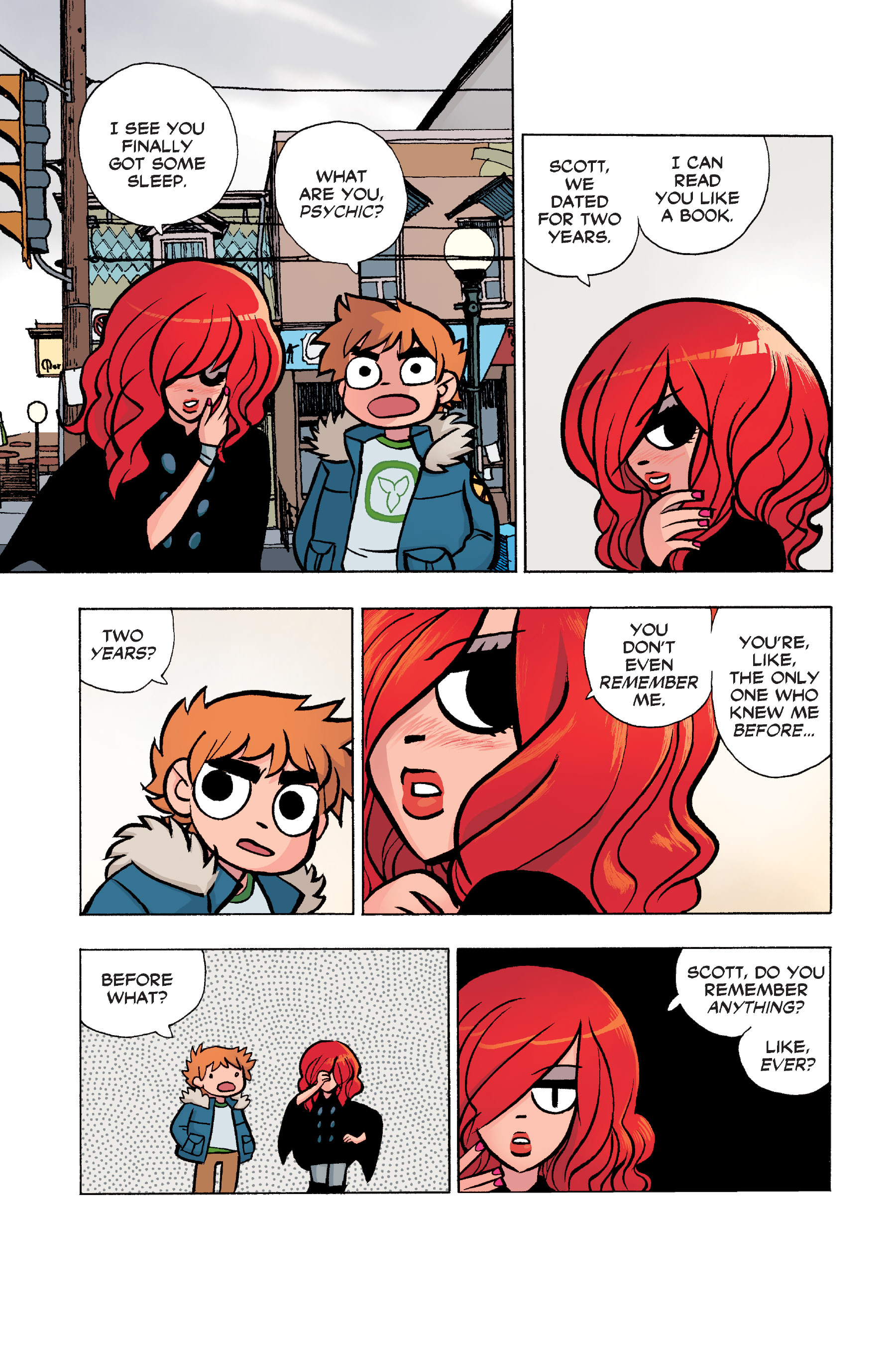Read online Scott Pilgrim comic -  Issue #6 - 56