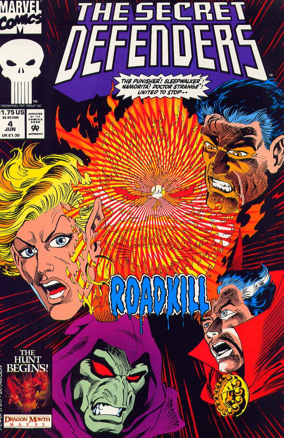 Read online Secret Defenders comic -  Issue #4 - 1