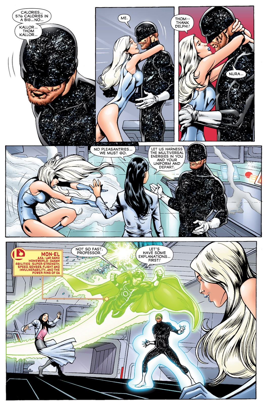Legion of Super-Heroes (2010) Issue #14 #15 - English 4