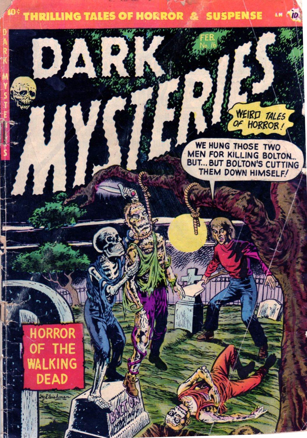 Dark Mysteries 16 Page 1